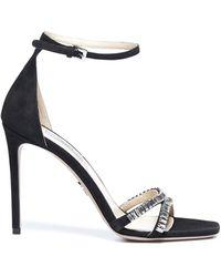 Prada High-heeled Sandals - Black