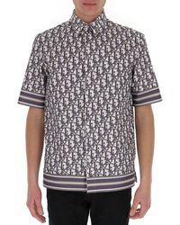 Dior Oblique Short Sleeve Shirt - Multicolor
