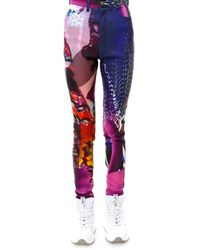 Maison Margiela Graphic Print Skinny Jeans - Multicolour
