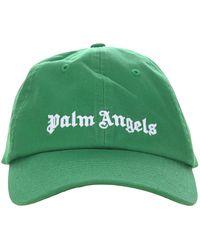 Palm Angels Hats Green