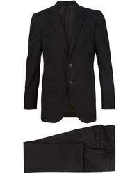 Lanvin Single-breasted Two-piece Suit - Blue