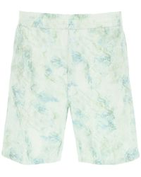 Carhartt Marble Shorts L Cotton - Multicolour