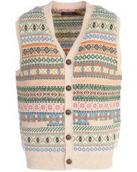 Polo Ralph Lauren Knit V-neck Vest - Multicolour