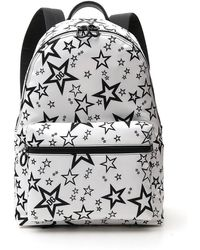 Dolce & Gabbana Star Printed Backpack - White