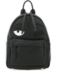Chiara Ferragni Flirting Backpack - Black