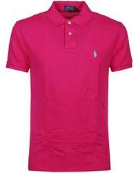 Polo Ralph Lauren - Short-sleeved Polo Shirt - Lyst