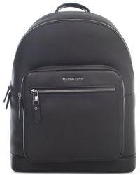 Michael Kors Hudson Logo Detail Backpack - Black