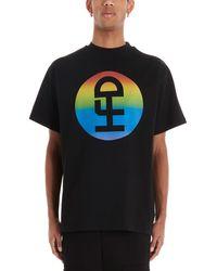 Honey Fucking Dijon X Commes Des Garçons Logo Print T-shirt - Black