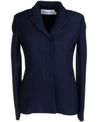 Dior Single Breasted Blazer - Blue