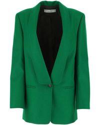Philosophy Di Lorenzo Serafini Hailey Single Breasted Jacket - Green