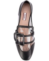 Bally Pvc And Leather Janelle Loafers Nd - Black