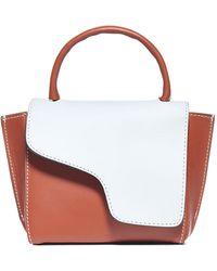 Atp Atelier Montalcino Two-tone Mini Shoulder Bag - Multicolor