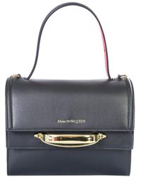 Alexander McQueen The Story Handbag - Black