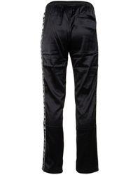 Kappa X Juicy Couture Enea Logo Printed Track Trousers - Black