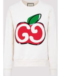 Gucci - GG Apple Sweatshirt - Lyst