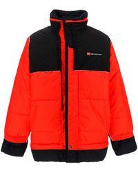 Balenciaga High-neck Puffer Jacket - Red