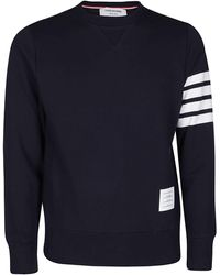 Thom Browne Engineered 4-bar Sweatshirt - Blue