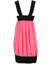 Comme des Garçons Pleated Dress - Pink