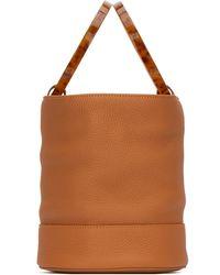 Simon Miller Medium Bonsai Bucket Bag - Brown