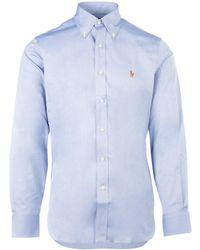 Polo Ralph Lauren Logo Shirt - Blue