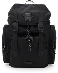 Versace La Medusa Backpack - Black