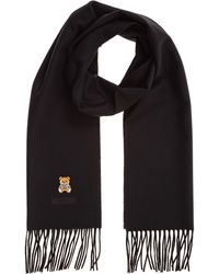 Moschino Women's Wool Scarf - Black