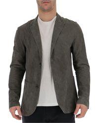 DESA NINETEENSEVENTYTWO Button-up Blazer - Grey