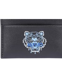 KENZO Ekusson Tiger Cardholder - Black