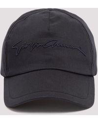 Giorgio Armani Logo Embroidered Baseball Cap - Blue