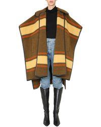 Philosophy Di Lorenzo Serafini Oversize Fit Cape - Multicolor