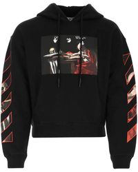 Off-White c/o Virgil Abloh Caravaggio Hooded Sweatshirt - Black