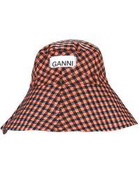Ganni Bucket Hat - Multicolour