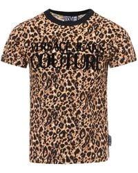 Versace Jeans Couture Animal Print T-shirt - Multicolor