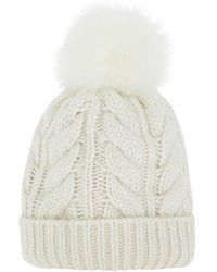 Woolrich Soft Wool Beanie - White