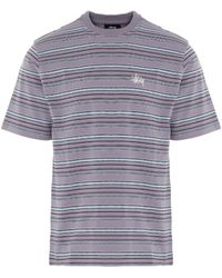 Stussy Heather Stripe T-shirt - Multicolour