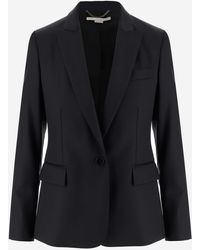 Stella McCartney Single-breasted Blazer - Black
