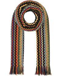 Missoni Zig-zag Knit Scarf - Multicolour