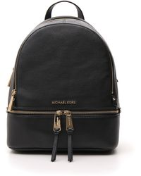 MICHAEL Michael Kors Rhea Medium Backpack - Black