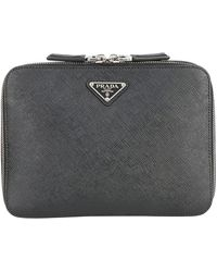 Prada Saffiano Mini Backpack - Black