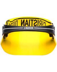 Dior Diorclub1 Visor - Yellow
