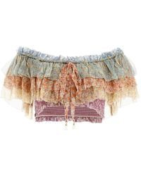 Zimmermann Carnaby Top - Multicolour