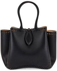 Alaïa Angèle 25 Shoulder Bag - Black