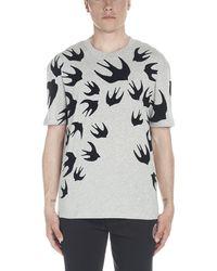 McQ Swallow T-shirt - Gray