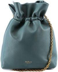 Mulberry Lynton Mini Bucket Bag - Blue