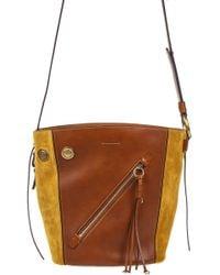 Chloé Myer Small Shoulder Bag - Brown