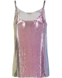 Paco Rabanne Chain Mail Camisole - Multicolour