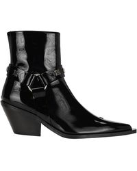MISBHV Point-toe Ankle Boots - Black
