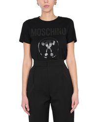 Moschino Crew Neck T-shirt - Black