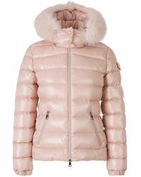 Moncler Badyfur Padded Jacket - Pink