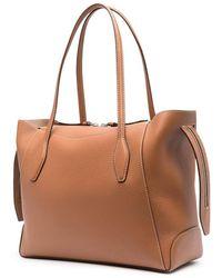 Tod's Shopper Tote Bag - Brown